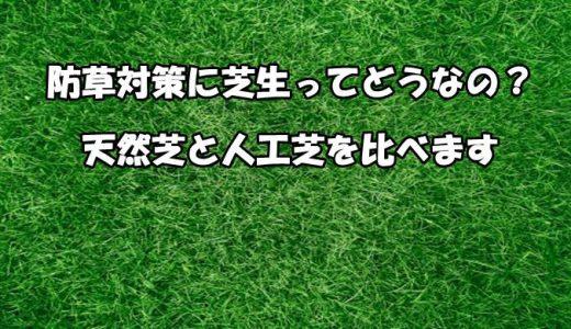 【雑草対策 芝生の防草効果】耐用年数、種類別の特徴や費用などまとめ!