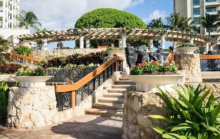 リゾート風の庭づくり