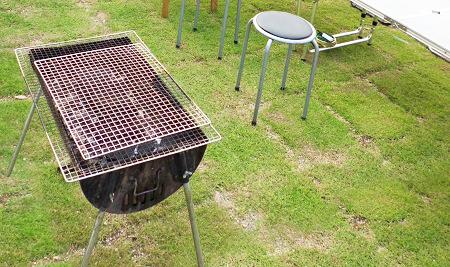 庭 BBQグリル