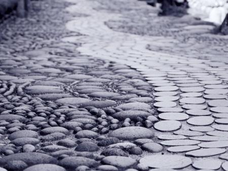 石畳に使う天然石の種類