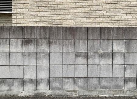 コンクリートブロック塀