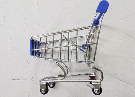 ショッピングカートの雑貨